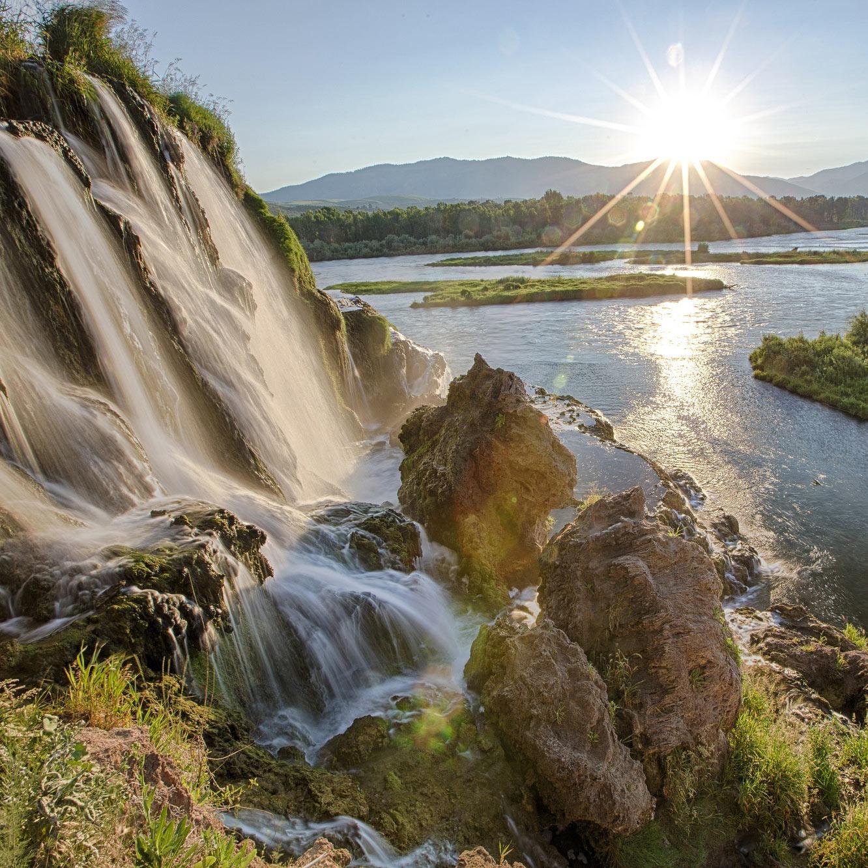 Natur - ro - balance - vandfald