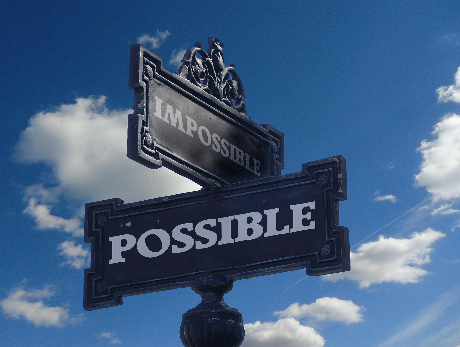 Overbevisninger - muligt versus umuligt